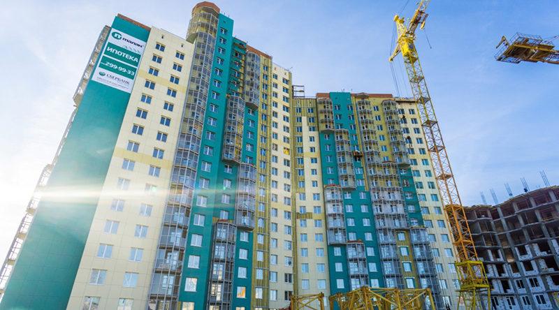 Здания новостройки Пермь