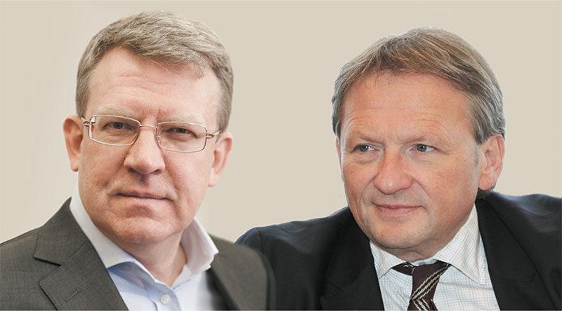 Кудрин и Титов